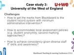 case study 3 university of the west of england