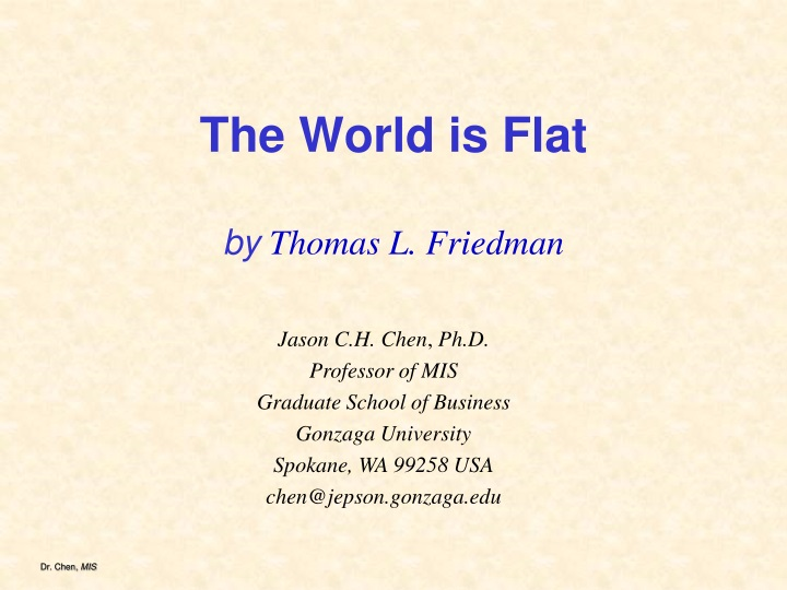 The world is flat by thomas l friedman