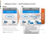 alliance lite2 an evolution of lite