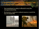 keeping the public and firefighters safe