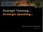 pio pre season webinar april 25 2012