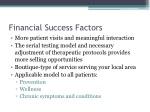 financial success factors