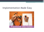 implementation made easy