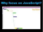 why focus on javascript