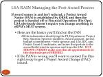 lsa rain managing the post award process 4