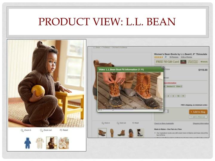 Product View: L.L. Bean
