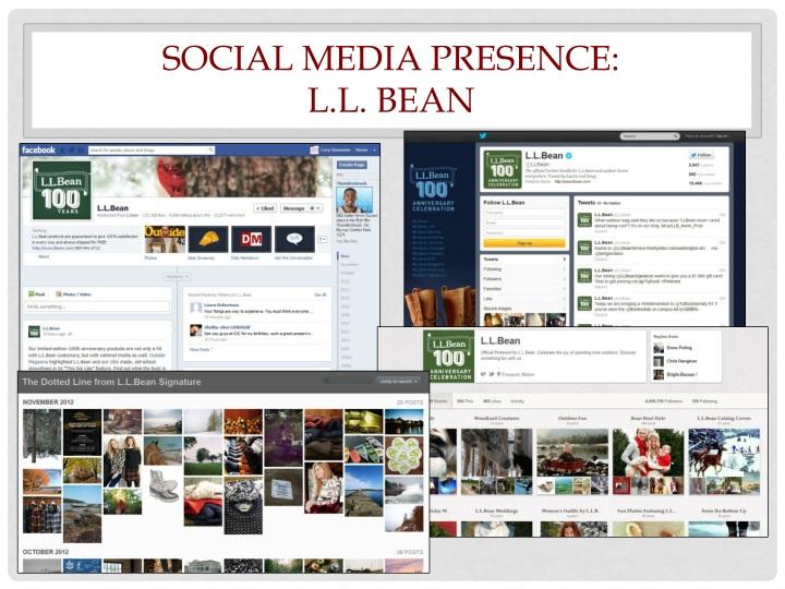 Social Media Presence: