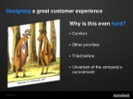 designing a great customer experience