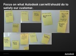 focus on what autodesk can will should do to satisfy our customer