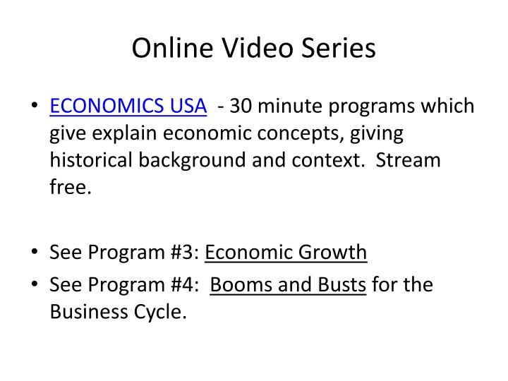 Online Video Series