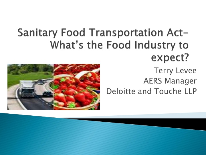 sanitary food transportation act what s the food industry to expect n.