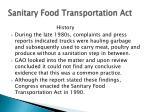 sanitary food transportation act1
