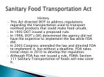 sanitary food transportation act2