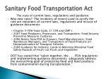 sanitary food transportation act4