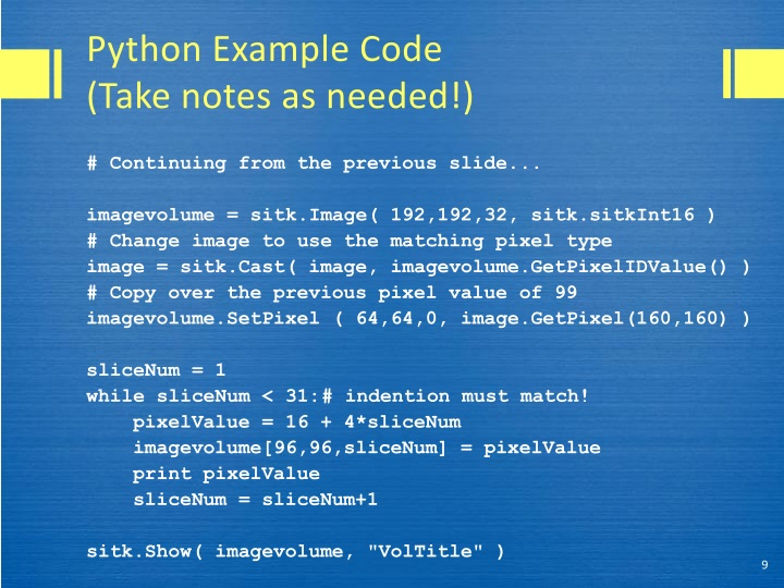 PPT - Lecture 2 A brief overview of simple Python and more