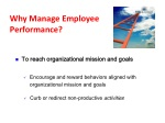 why manage employee performance