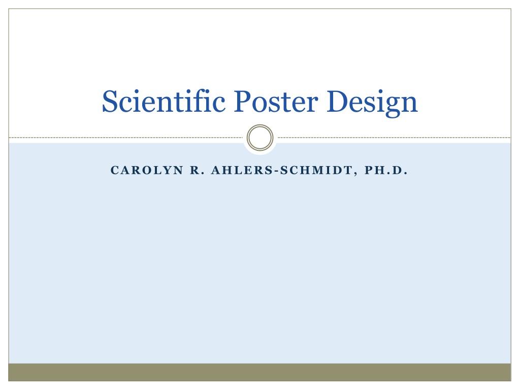 ppt scientific poster design powerpoint presentation id 1507563