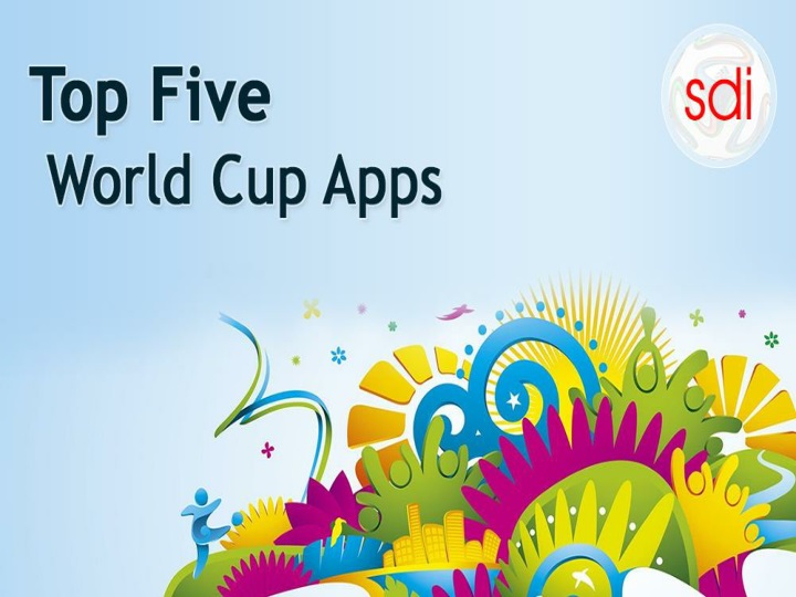 Top five fifa world cup apps