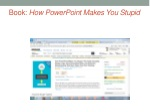 book how powerpoint makes you stupid
