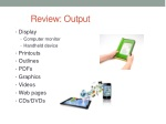review output