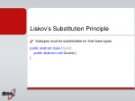 liskov s substitution principle