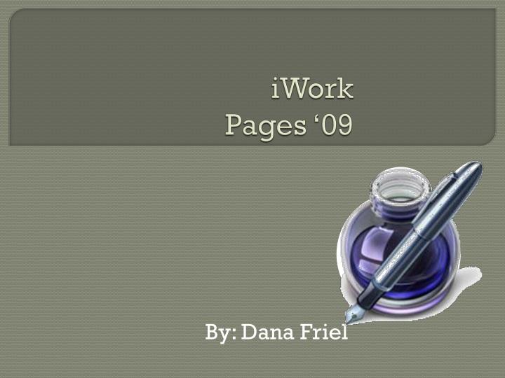 iwork pages 09 n.
