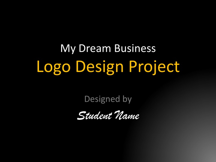 my dream business logo design project n.