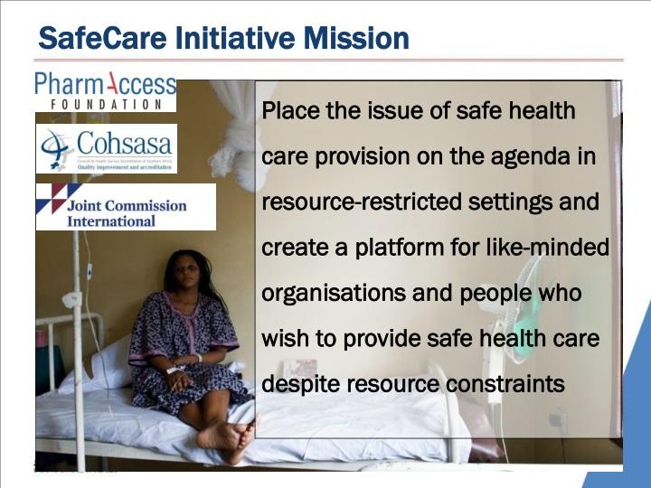 SafeCare Initiative Mission
