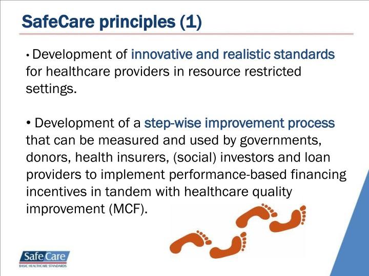 SafeCare principles (1)