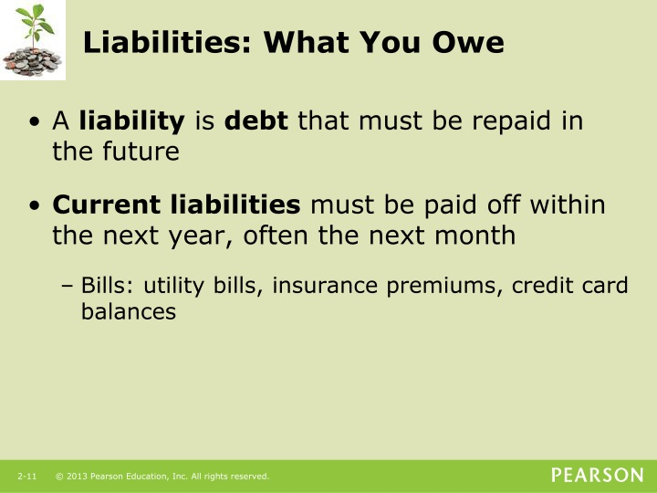 Liabilities: What You Owe