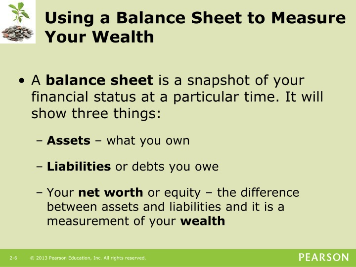 Using a Balance Sheet to Measure Your Wealth