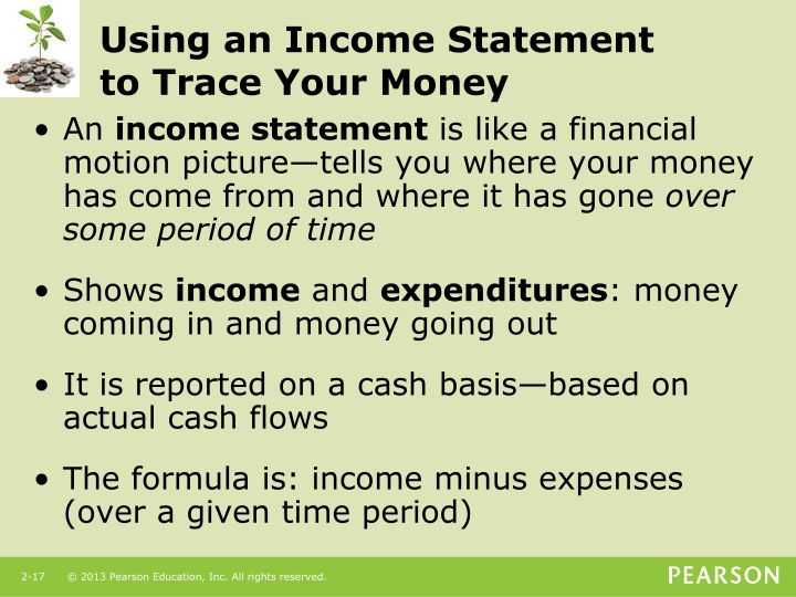 Using an Income Statement