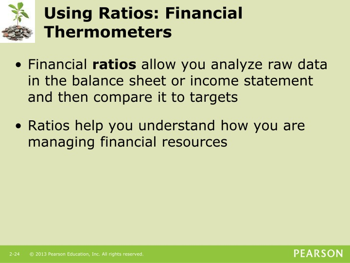 Using Ratios: Financial Thermometers