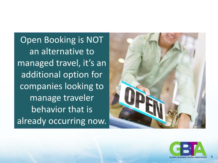 Open Booking
