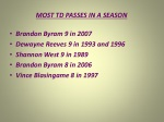 most td passes in a season
