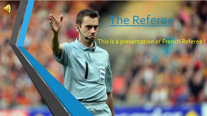 the referee n.