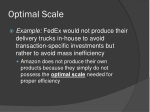 optimal scale
