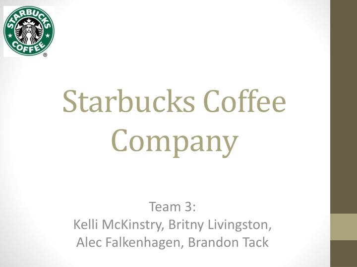 starbucks coffee company n.