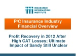 p c insurance industry financial overview