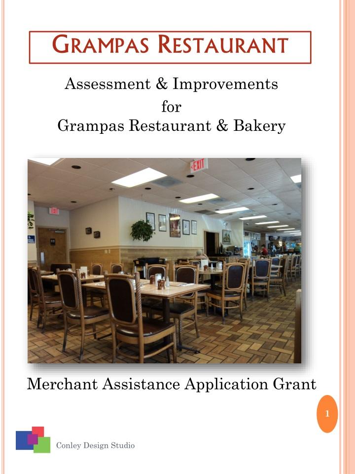 Grampas restaurant