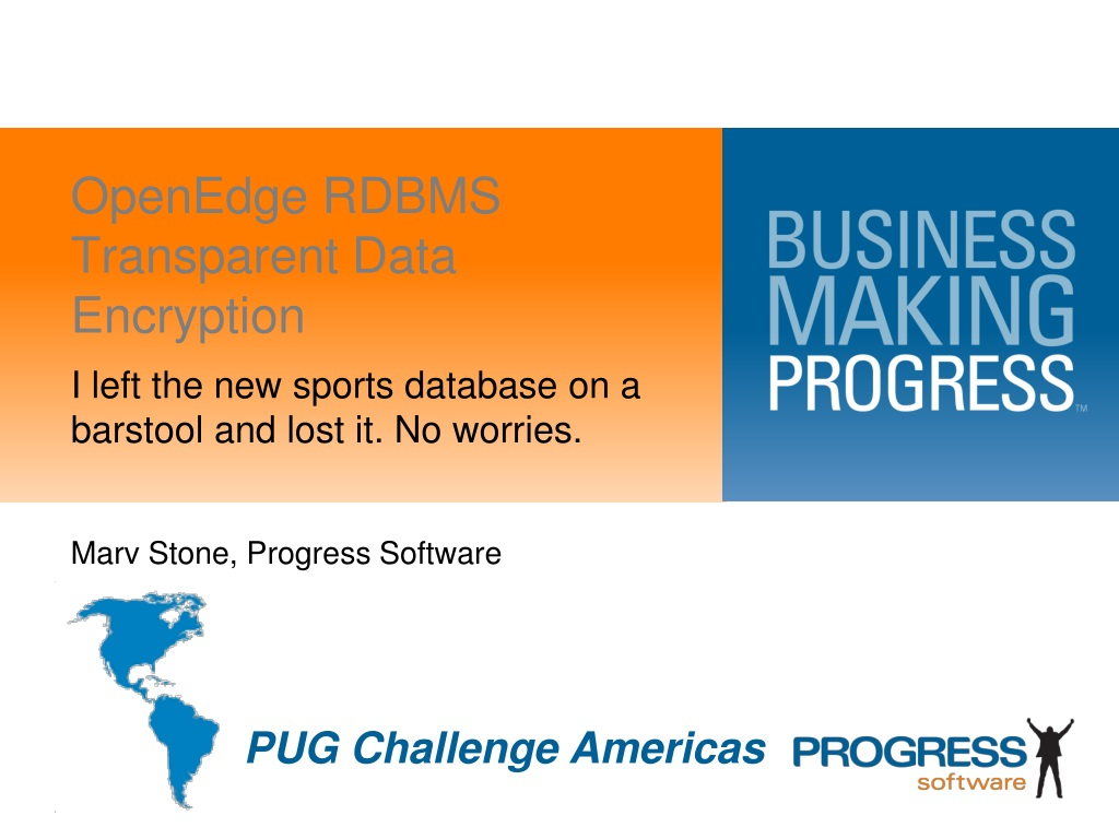 Ppt Openedge Rdbms Transparent Data Encryption Powerpoint Database Software N
