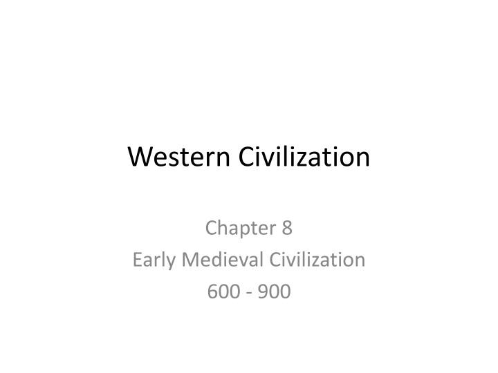 western civilization n.