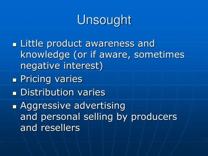 Unsought