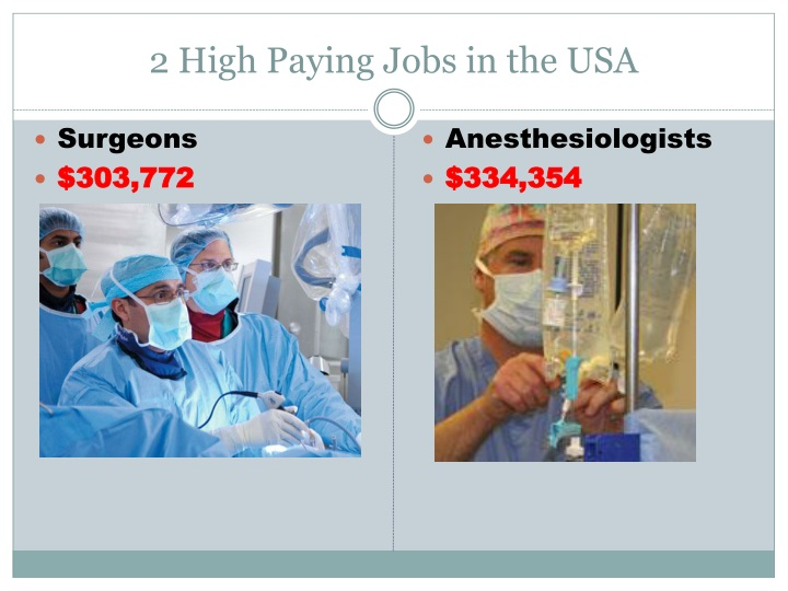 2 High Paying Jobs in the USA