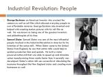industrial revolution people
