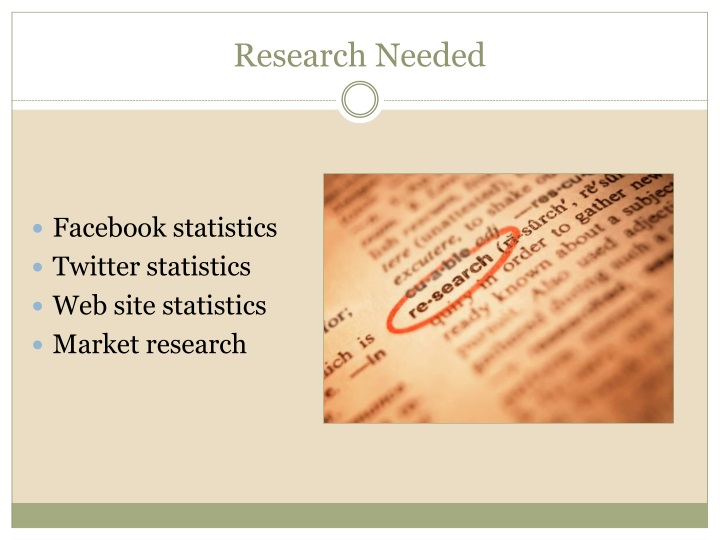 Research Needed