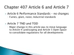 chapter 407 article 6 and article 7