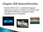 chapter 408 nonconformities1