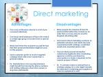 direct marketing 1