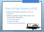 point of sale displays pos